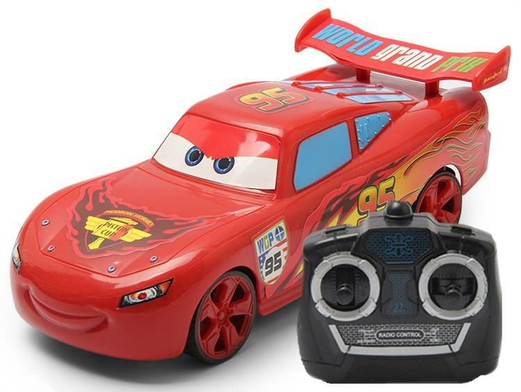 Wholesale Kids Cute Cartoon 4 Direction Remote Control Car Toys For