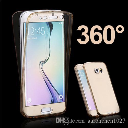 uk availability be434 8a55f Clear Full Cover 360 Degree For Samsung Galaxy S3 S4 S5 S6 S7 Edge J1 mini  J3 J5 J7 A3 A5 2016 2017 Core Grand Prime Case