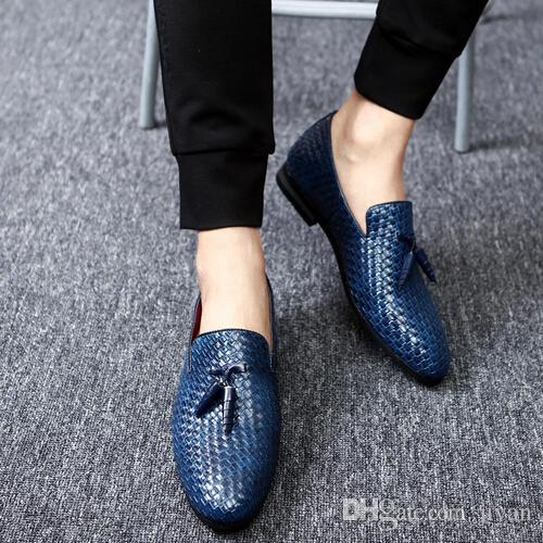 c4968998fe 2017 scarpe da uomo di lusso di marca mocassino in pelle casual guida  oxford scarpe uomo mocassini mocassini scarpe italiane per gli uomini  taglia ...