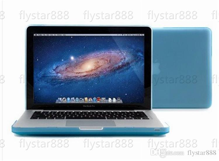 Macbook Laptop Netbook Frosted Matt Rubberized Front + Back Hard PC Case Cover for 11.6 Air 13 13.3 15.4 Pro Retina free DHL