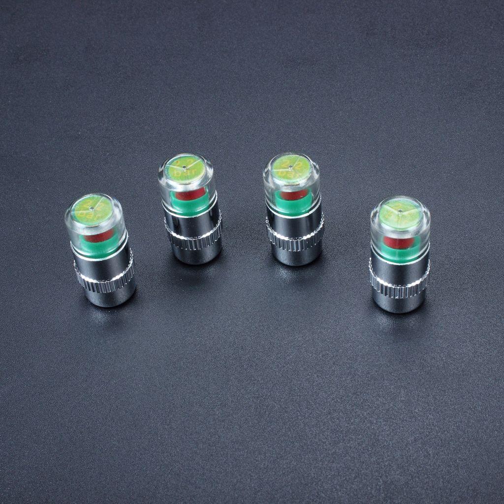 / Pack 2.2bar / 2.4bar 자동차 자동 타이어 공기 경고 경고 타이어 압력 센서 모니터 밸브 캡 표시기