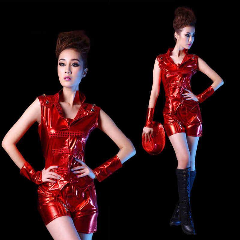 Red Disco Dresses