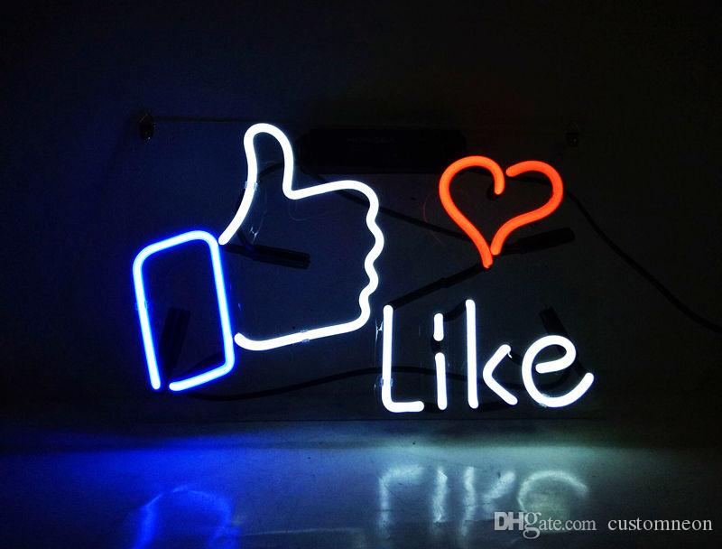 2017 14x11\'\' Like Social Media Emoji Beer Bar Pub Room Shop ...