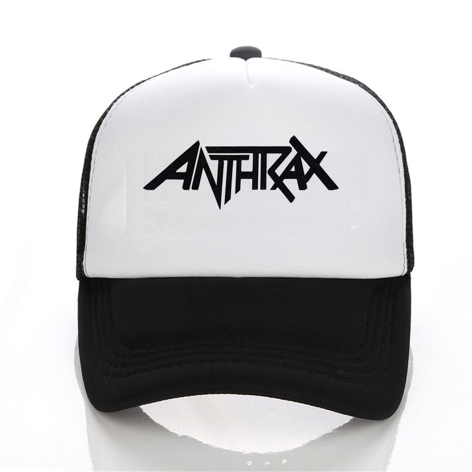 4c70eca9b3aa4 Wholesale- 2016 News Mens Womens Rock Metal Anthrax - Logo Music ...