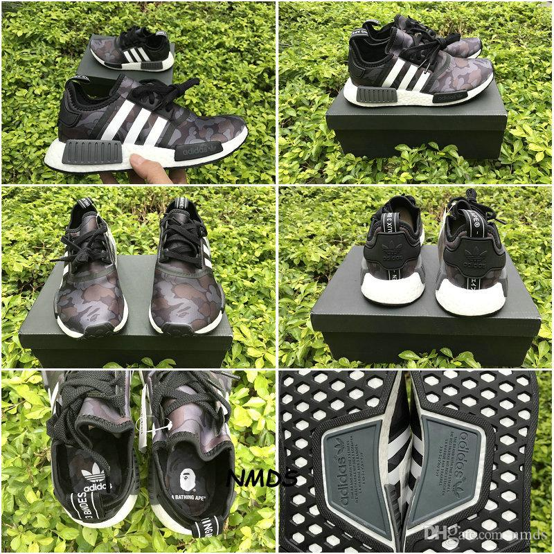 5e7690f6a 2017 New Adidas NMD BAPE XR1 BATHING Purple CAMO NMD XR1 NMD Camo Runner  Men Running Shoes Sports Sneakers Camouflage Grey Army With Box Sale Shoes  Men ...