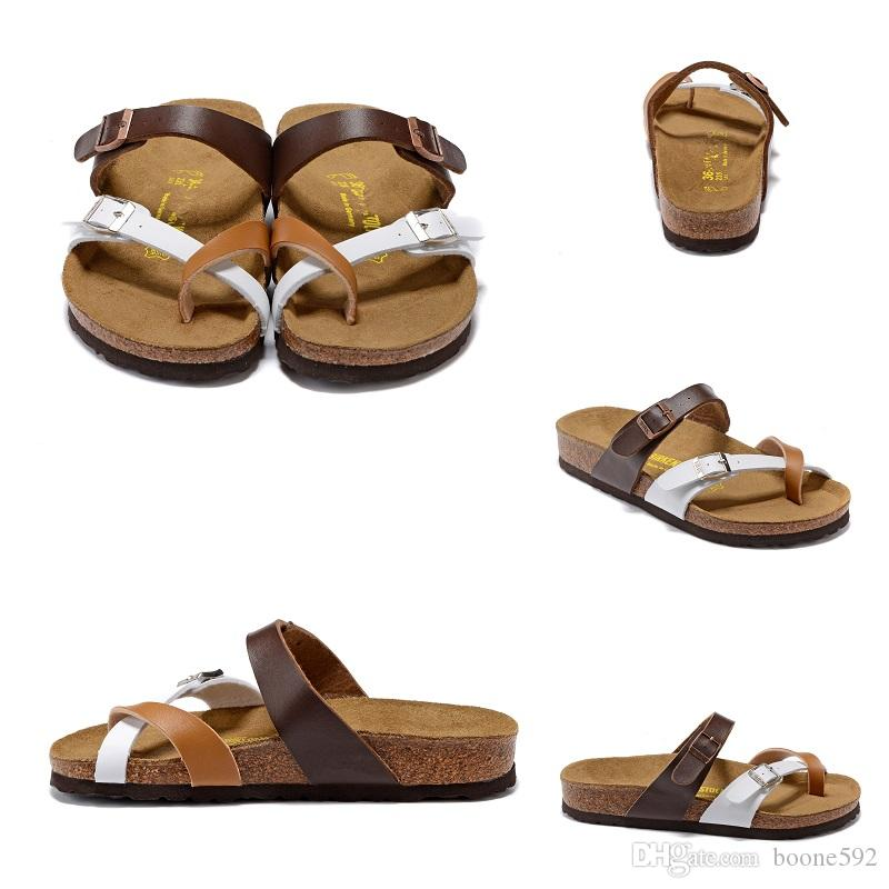 f8ab13b909e4 2017 Hot Sale Summer Men And Women Classic Milano Cork Two Color Sandals  Hard Wear Let You Walk Like A Barefoot On A Beach Buy Shoes Online Wedge  Boots From ...