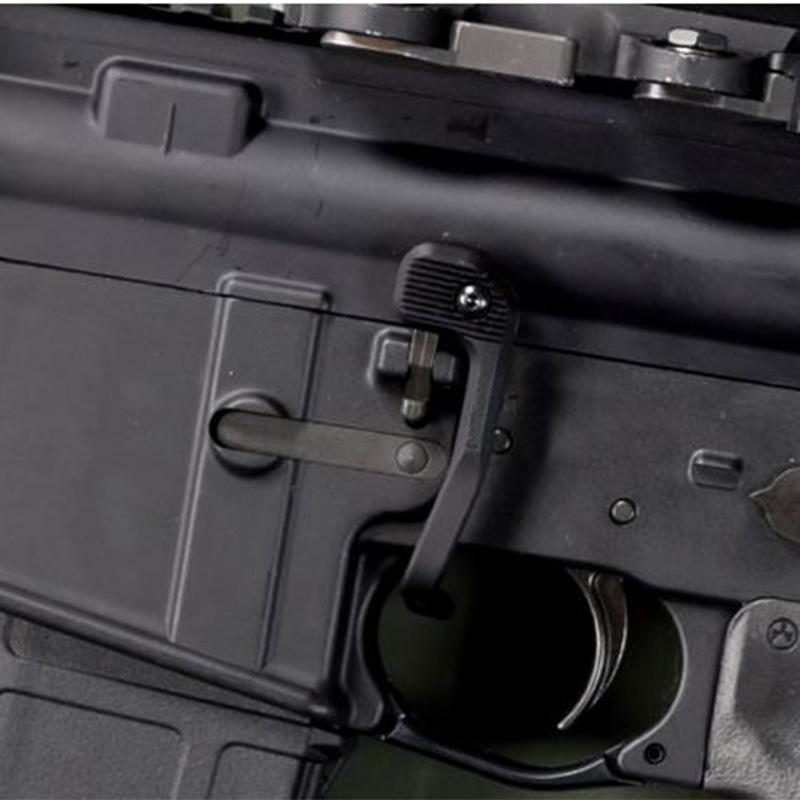 SINAUSTOFT지도 스타일 볼트 캐치 릴리즈 레버 배터리 보조 장치 표시가없는 레버 볼트 캐치 릴리스 레버 AIRSOFT 사냥 GBB AR15 M4 용