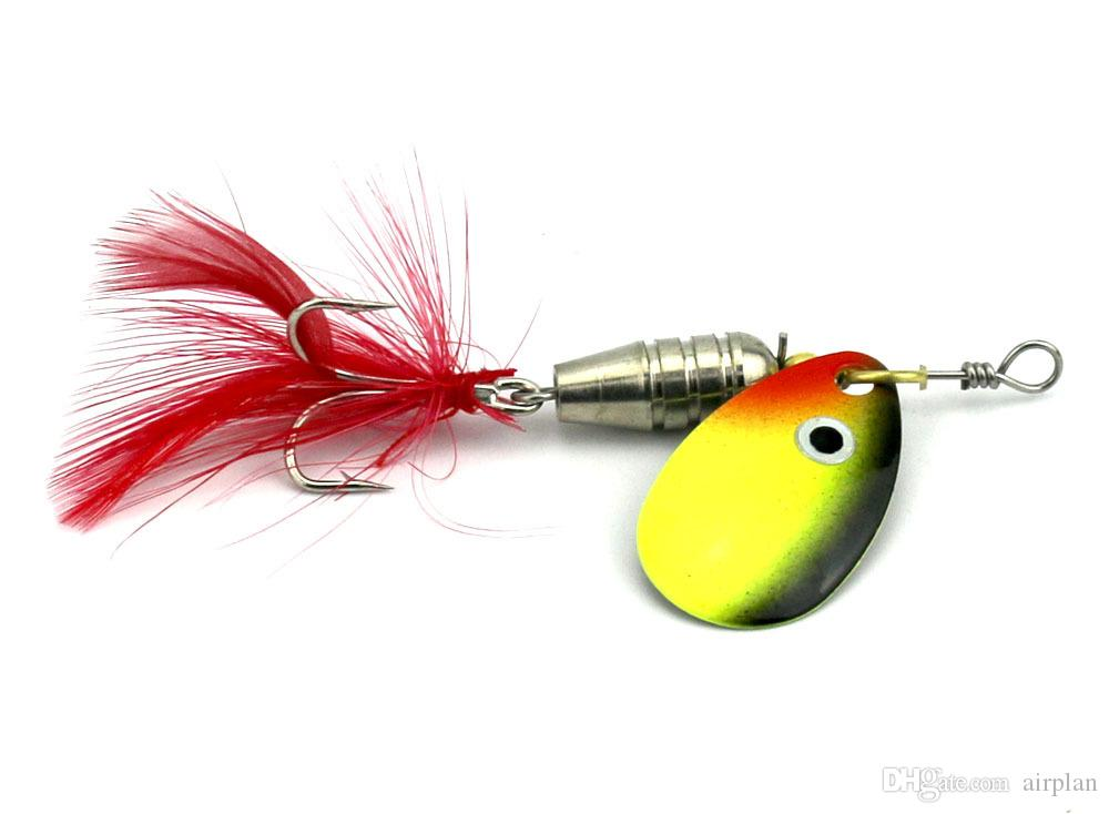 of Metal Spinner Spoon Fishing Lure Hard Baits Sequins Artificial Jigging Fishing Bait Accessoires Pesca Hooks Leurre Peche