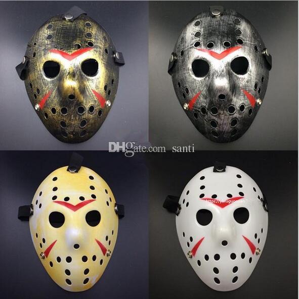 Джейсон Вурхис Пятница 13-й фильм ужасов Хоккейная маска Страшная маска Хэллоуина