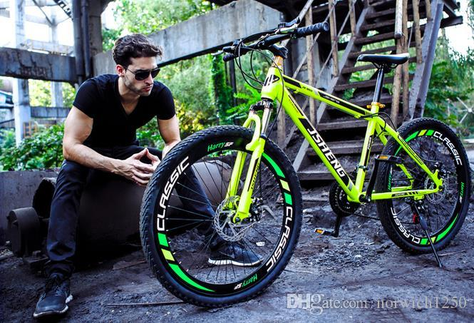 Mtb 2017 High Quality Carbon Steel 21 Speed 26 Inch Double Disc