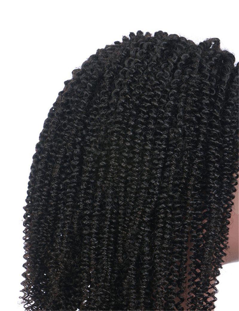 Perruque pré plumée cheveux vierges pleine dentelle avec décolleté naturel cheveux péruvien pas cher Perruque afro crépus culy dentelle FDSHINE cheveux