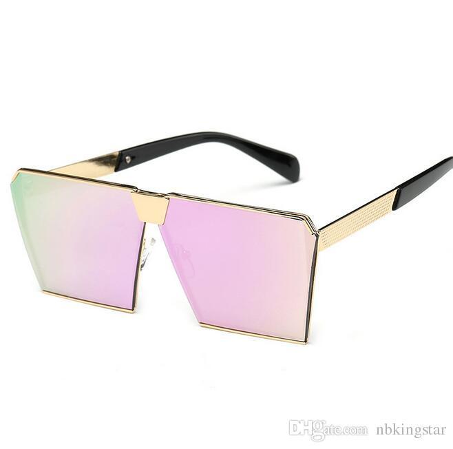 2017 New Style Women Sunglasses Unique Oversize Shield ...