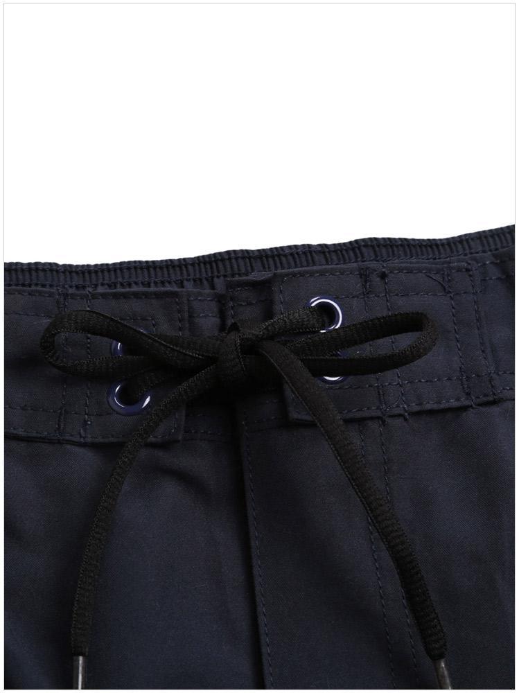 Женский купальник нижней печати лоскутное мальчик шорты с регулируемым шнурком размер: S M L XL XXL DLM410279