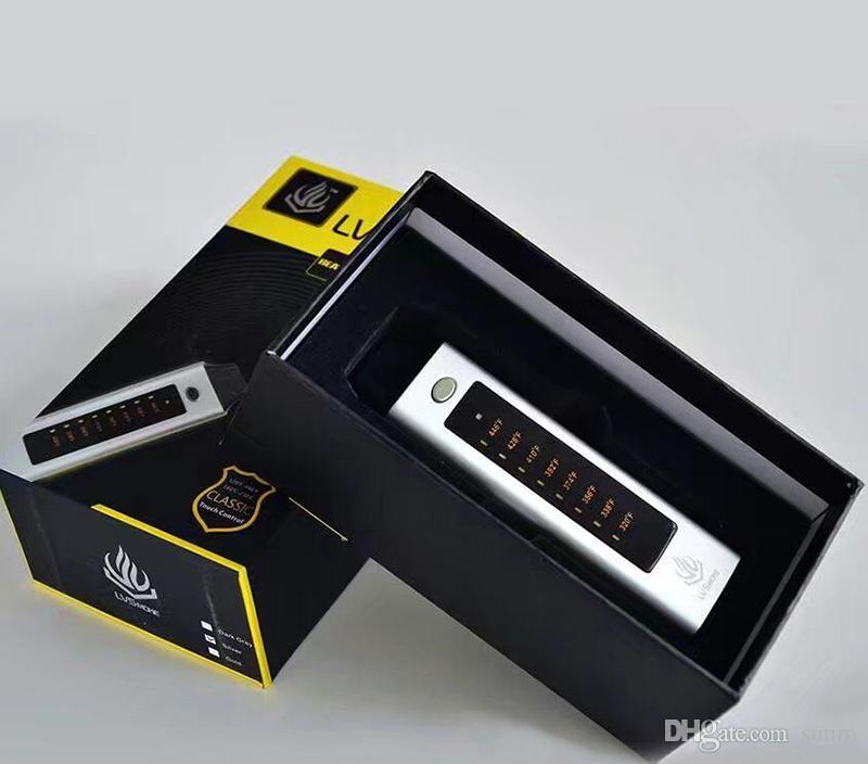 2017 Yeni Lvsmoke pil vape Flaş pişirme dijital buharlaştırıcı mini kuru ot buharlaştırıcı Bitkisel Buharlaştırıcılar Mikro USB Passthrough0268045-1