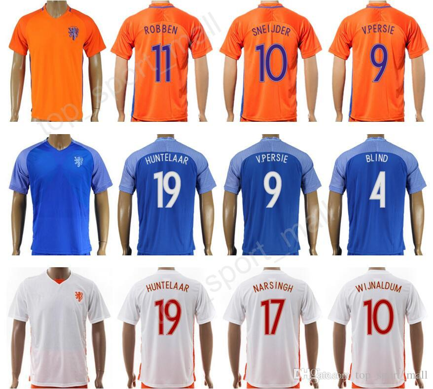 pretty nice af6c2 9e268 netherlands holland 10 sneijder away soccer country jersey ...