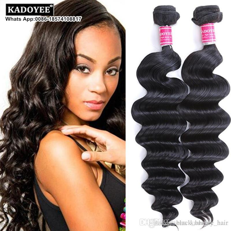 Unprocessed 8a Brazilian Virgin Hair Loose Deep Wave Human Hair