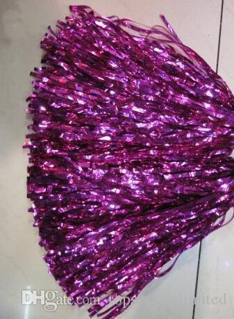 25g cor bola cheerleaders aeróbica dança quadrada cerimônia de abertura proclamada elogios pompom, cheerleader produtos