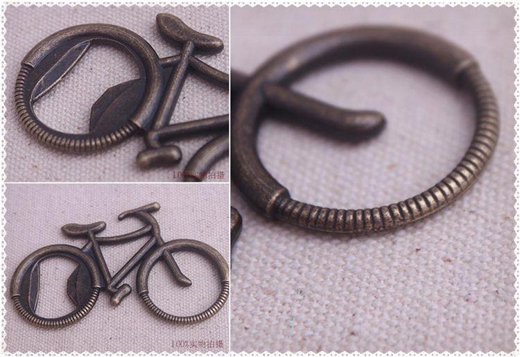 Nuevo abrebotellas Metal Bicicleta Bicicleta En forma de vino Abridores Favor de la boda Recuerdo Regalo del partido Presentes Abridores IC565