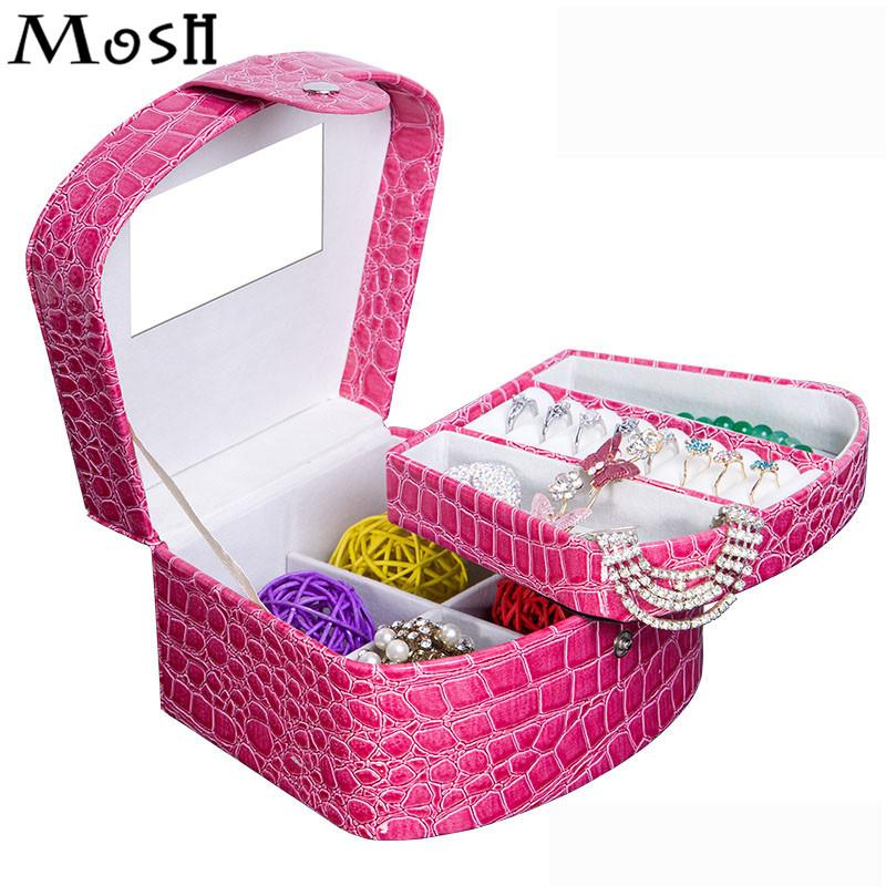 2018 Wholesale Cosmetics Case Jewelry Organizer Gift Box Fashion