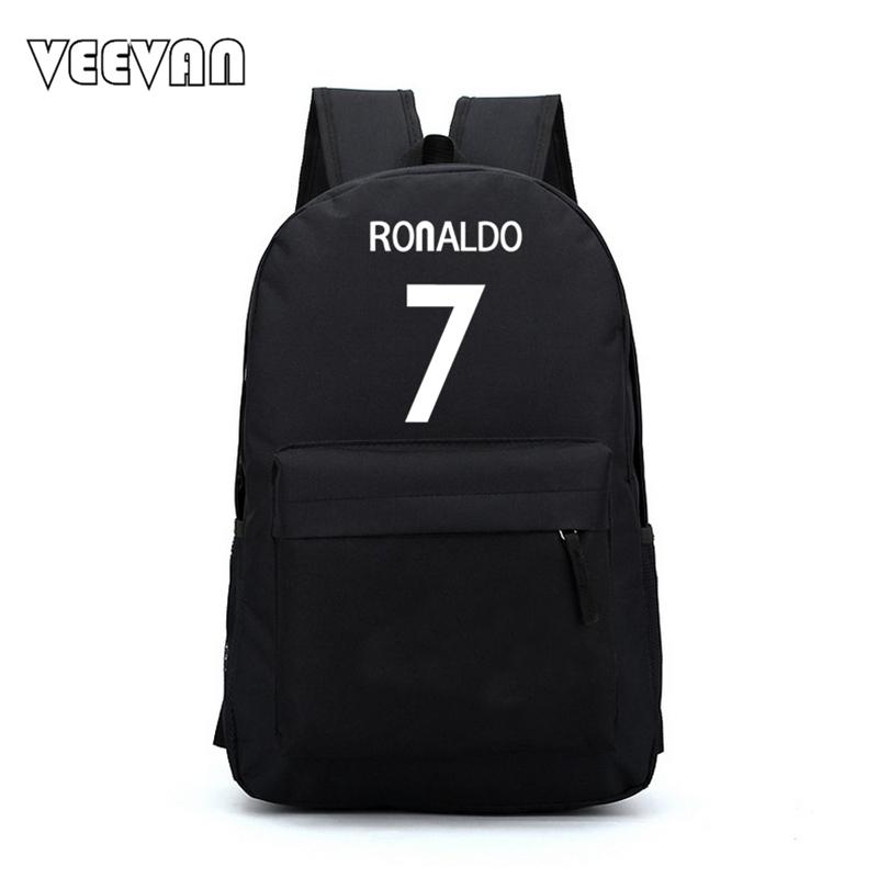 Wholesale- New 7  Bag Ronaldo Men s Backpacks Printing Backpacks For ... 2748bb192592f