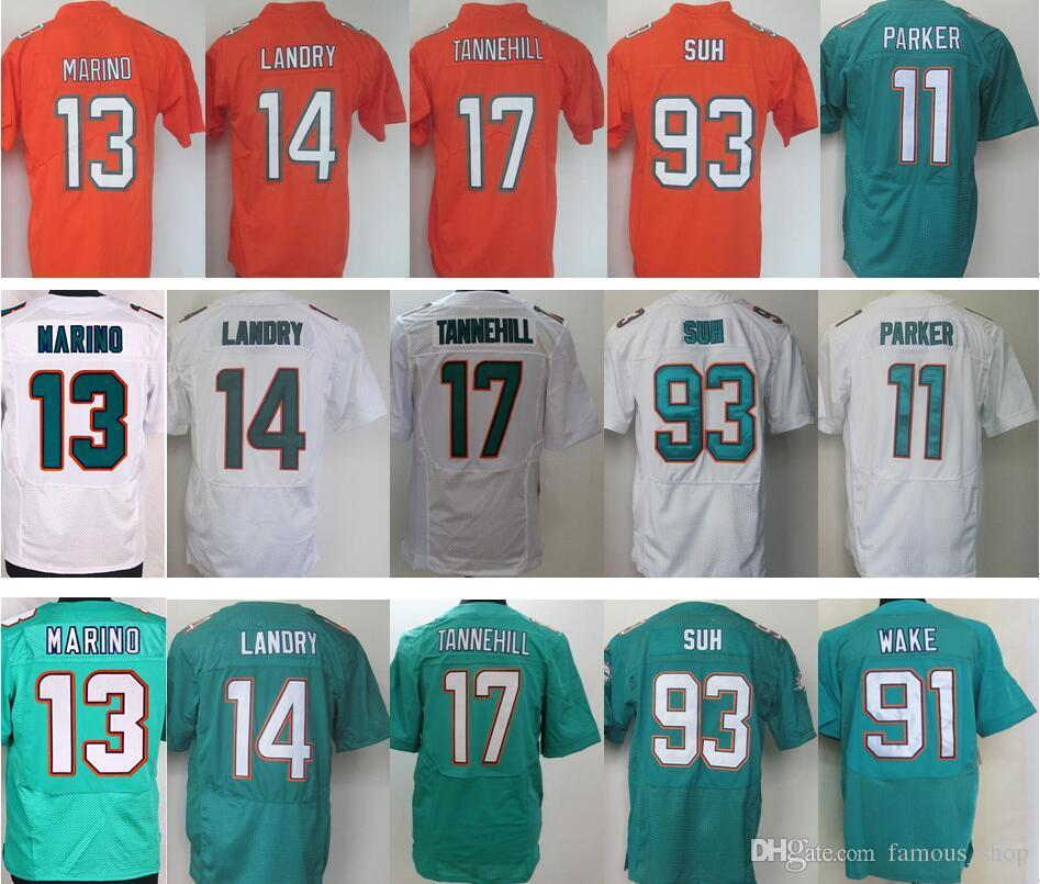 check out 4c90b ceff2 coupon for miami dolphins 14 jarvis landry orange color rush ...
