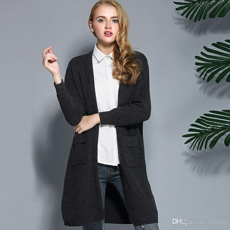 2018 Wholesale Woman Long Wool Sweater 2016 Fashion Women Winter ...