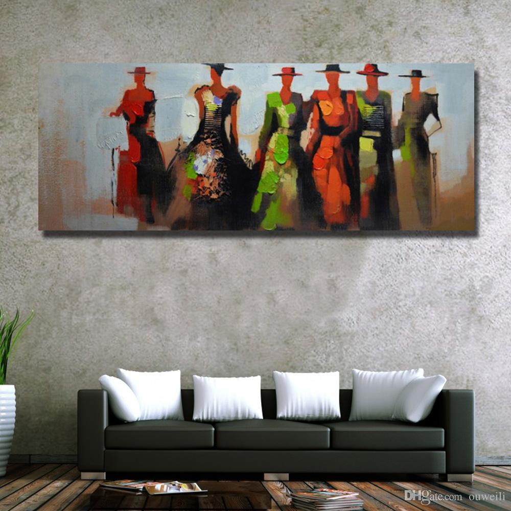Cheap price wholesale hand painted abstract beautiful nude women oil painting on canvas photos women nude chinese