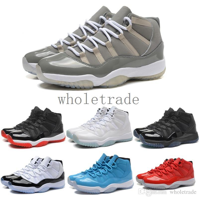 11 11s Legend Blue Cool Grey Space Jam Mens Womens Basketball Shoes 11s  Gray Suede Velvet Blue Sneakers With Shoes Box 4e Basketball Shoes Loafers  For Men ... aed7a6c8a8d