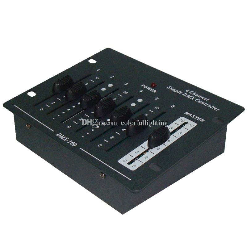 CE UL List China High Quality Compact Simple Mini 6 Channel Mini DMX Controller