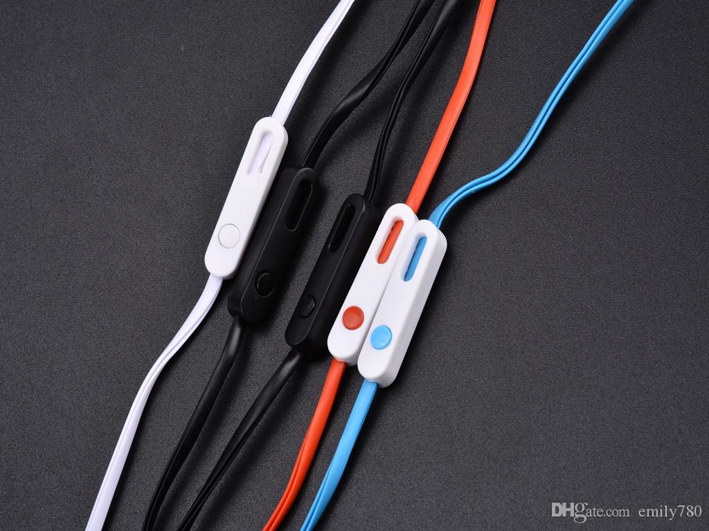 Mikrofon ile kulak kancası evrensel kulaklık spor kulaklık müzik güçlü bas JY-A3 kulak iphone samsung cep telefonu için mp3 düz kablo