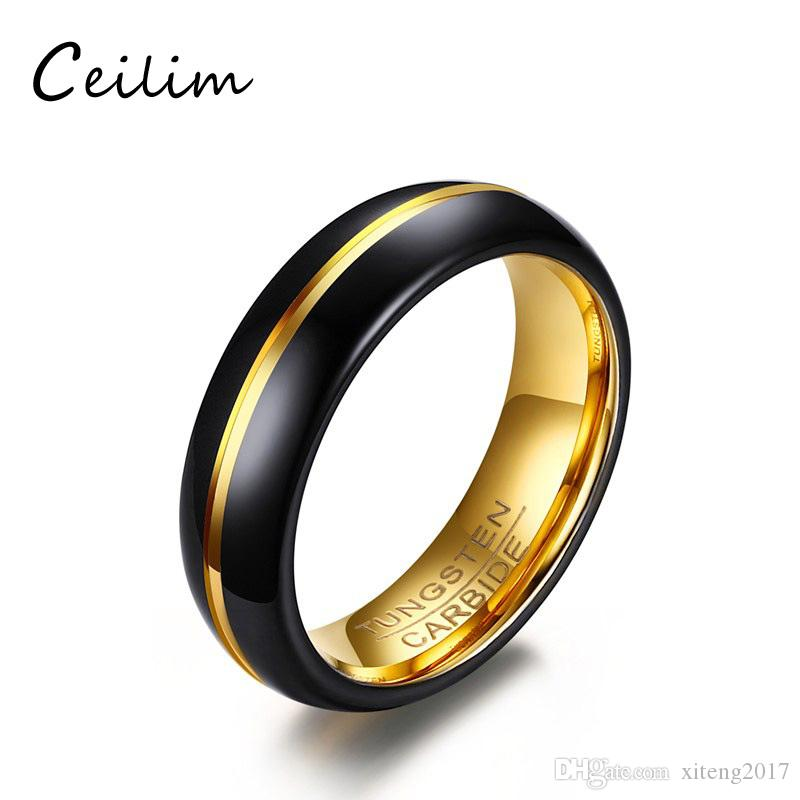 2018 2017 New 6mm European Designer Jewelry High Quality Tungsten