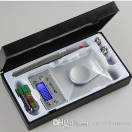 10/20 / 50g 0.001g Balance de poche électronique de poche électronique de haute précision mini balance numérique
