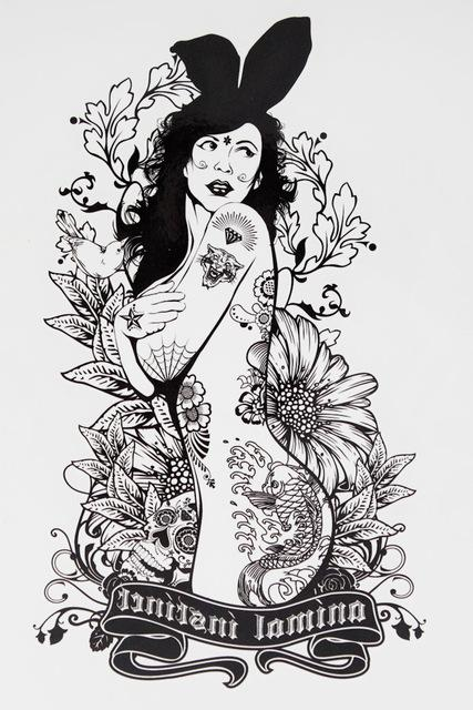 from Luciano naked girl drawring tattoo