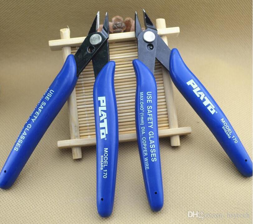 DHLPlato gratuit 170 Flush Cutter Fil Cutter Nipper Mini Pince Pince Cisailles De Coupe Outil Pour DIY RDA chauffage bobine mèche Atomiseur reconstructible