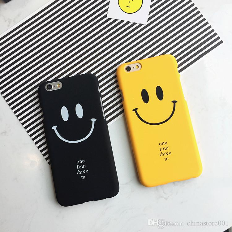 China Wholesale Cheap Cell Phone Cases For iPhone 6 6Plus Armor Defender Hybrid Heavy Duty Shockproof Cases Cover Smile Face UPS DHL Free