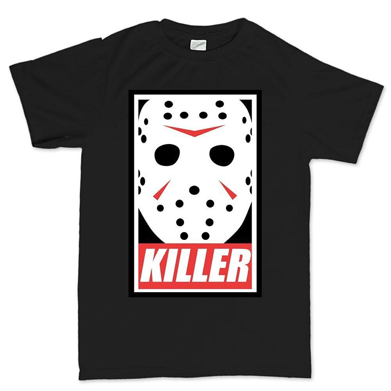 Fashion Funny Tops Tees Mens Jason Voorhees Killer Halloween T ...