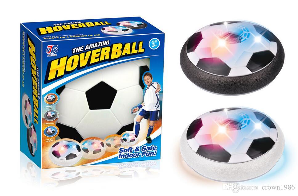 Hover Ball Toy : Air power soccer disk with led ball light up football