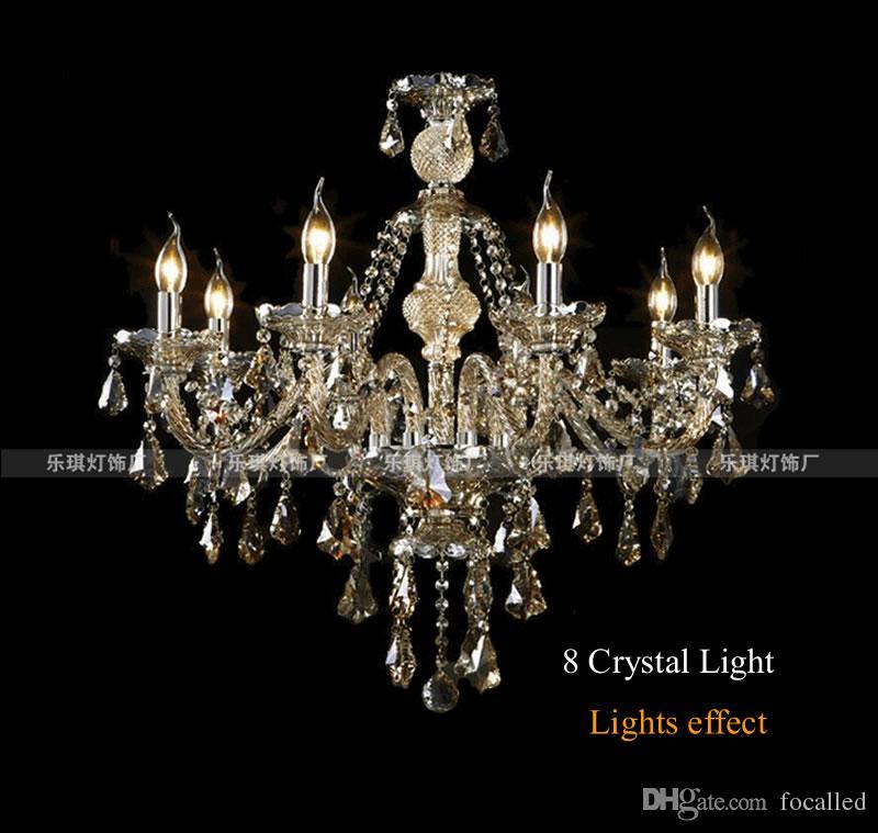 Modern kristal avize oturma odası cristal dekorasyon kolye ve avizeler ev aydınlatma kapalı lamba