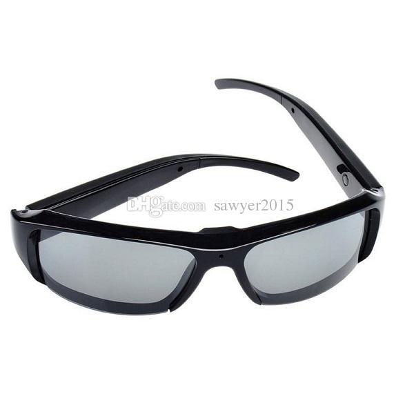 كامل HD 1080P نظارات شمسية نظارات MINI نظارات DVR المحمولة نظارات الثقب الكاميرا كاميرا فيديو مسجل فيديو نظارات شمسية صغيرة