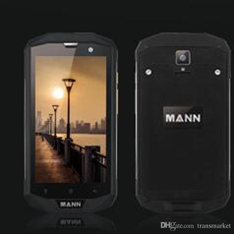 Mann 5s Rugged Smartphone 4G Android 5.1 Quad Core 4050mAh 3GB RAM 32GBROM Cellphone Dual Card 8.0Front Camera 13.0Back Camera Mobilephone