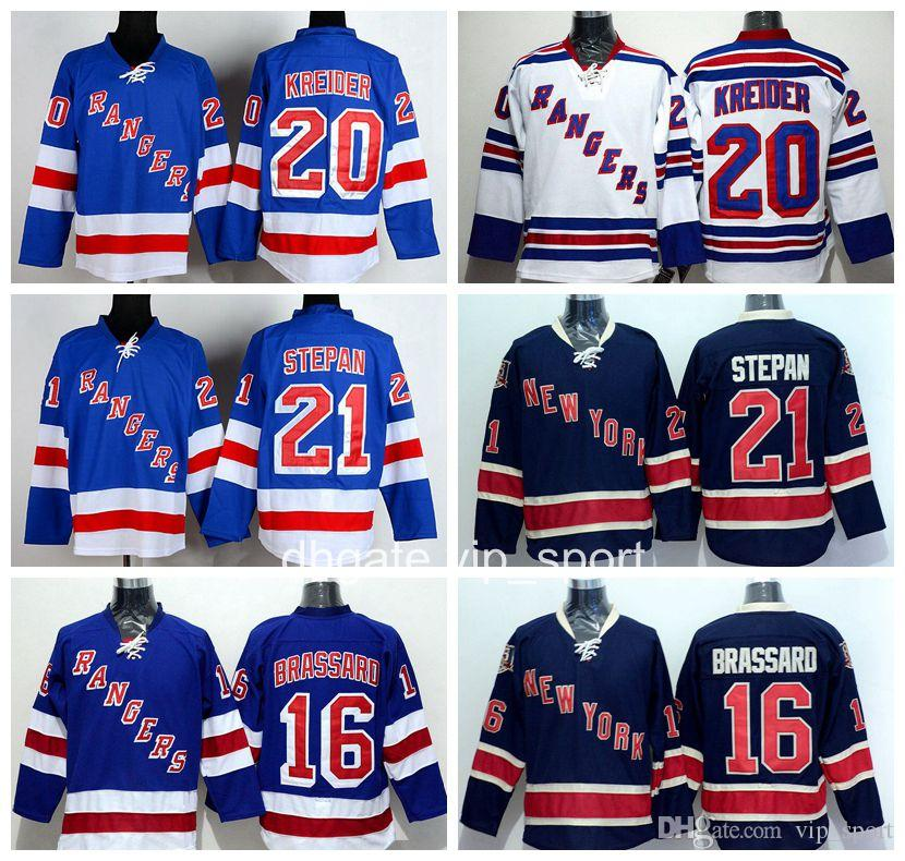 ... 2017 New York Rangers Men 16 Derick Brassard Ice Hockey Jers Adidas  Coyotes 21 Derek Stepan Maroon Home Authentic Stitched Youth NHL Jersey ... 8d021e482