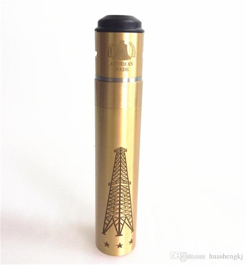 Os mais recentes RIG V3 Mecânica MODs Kit Com Roughneck RDA Rig V3 Mod Kit E Magnet cigarro interruptor caber 18650 VS AV Kennedy mod DHL grátis