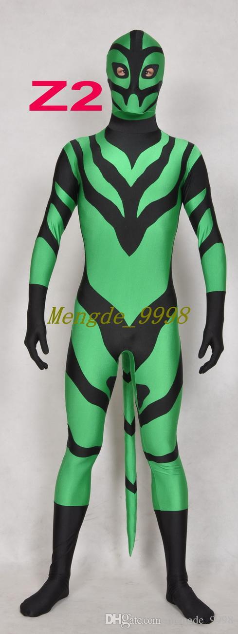 Nouveau Unisexe Super Hero Costumes Fantaisie 3 Style Superhero Costume Catsuit Costumes Avec Queue Unisexe Super Hero Outfit Halloween Cosplay Costume M237