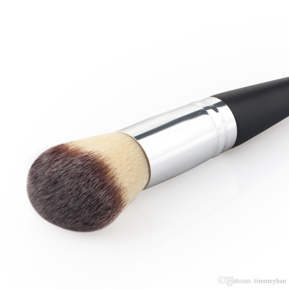 HaLu Double Ended Maquillage Pinceaux Ombre À Paupières Blush Cheveux Synthétiques Brosses Cosmétiques Bois Professionnel Unique Make Up Outil de Beauté