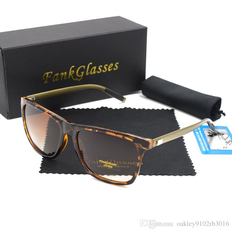 0d046203e7e FankGlasses Sunglasses Women Brand Designer Polarized Men Retro ...