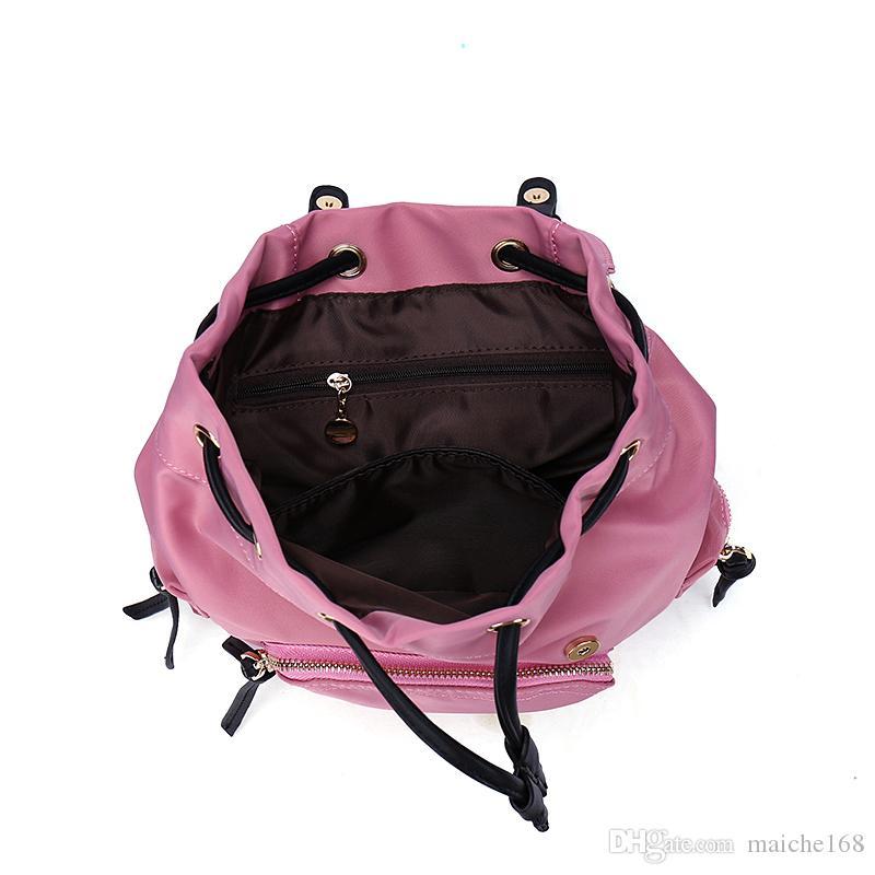 2017 nova mochila parachute Oxford bolsa de ombro à prova d 'água nylon saco de viagem