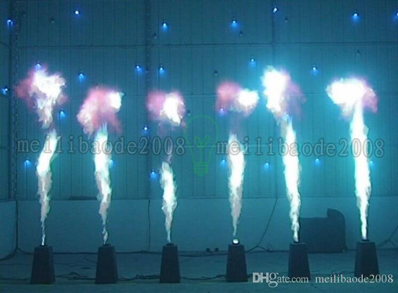 200 Вт DMX с эффектом живого огня пламя проектор DJ группы этап пожарной машины двигателя показать партии DMX 2 канала автоматического управления 4 угла дизайн чехол бесплатная доставка MYY