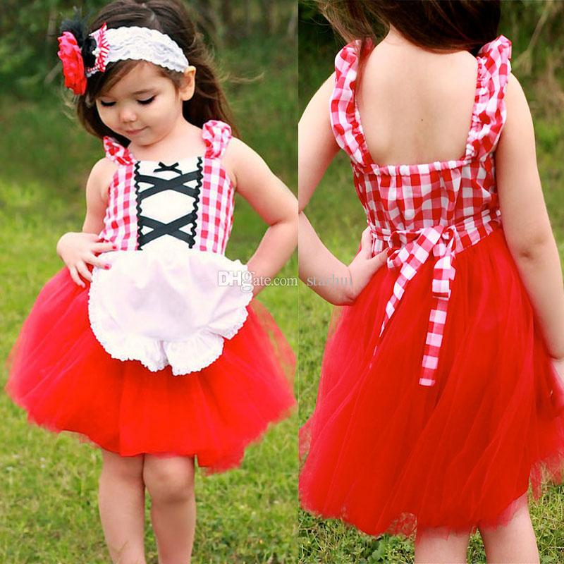 8fc341893 2018 New Girls Floral Dress Baby Snow White Princess Alice Party ...