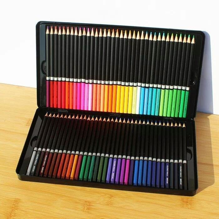 2018 Oily Color Pencil Genuine Secret Garden Coloring Book Dedicated Art Painting Pen Iron Boxed Treasure Grams From Fidget 3028