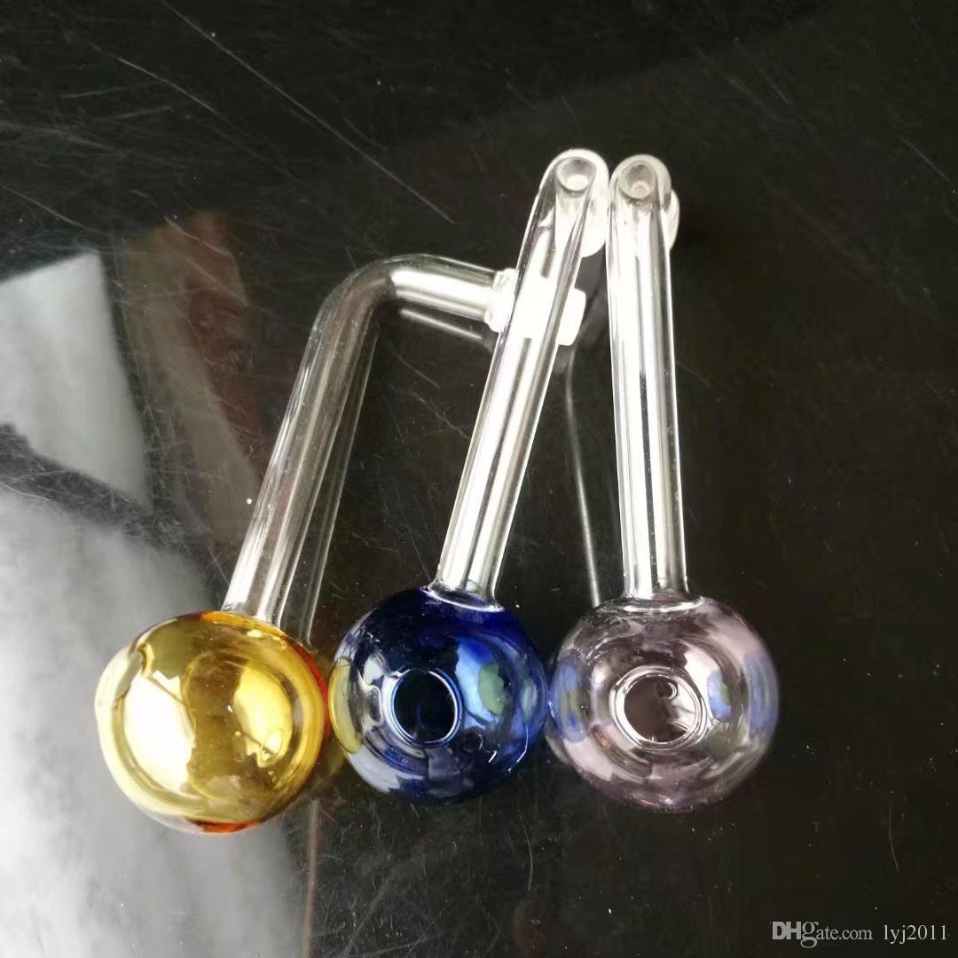 Farbige Cartesian Auflauf Großhandel Glas Bongs Ölbrenner Glas Wasserpfeife Öl Rigs Rauchen Rigs